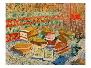 Yellow Books Van Gogh Print